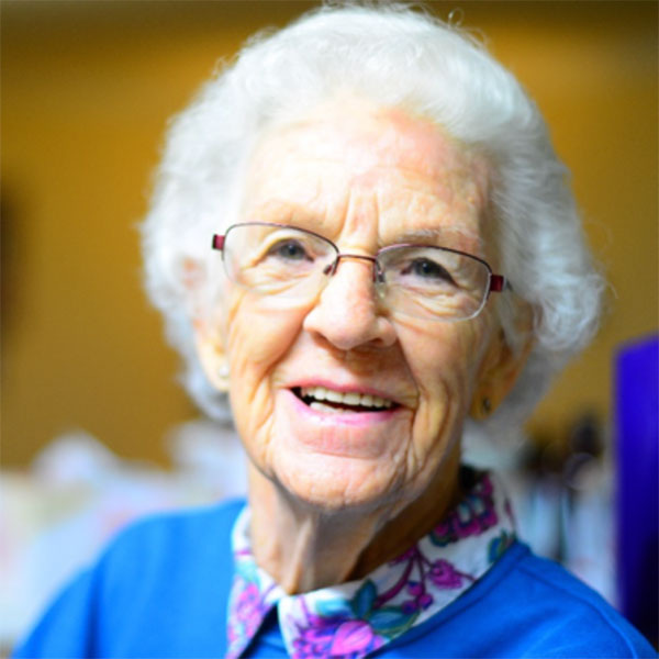 picture of elderly lady