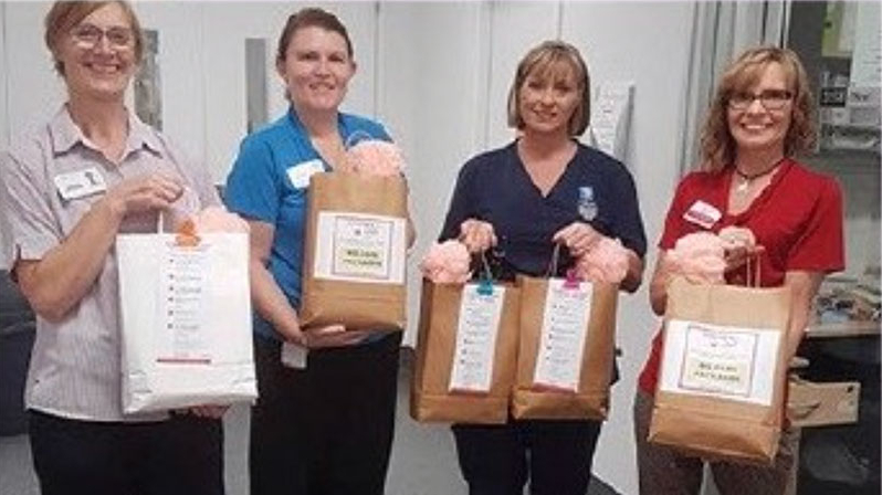 we care packages delivered to the mater hospital