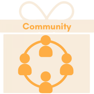 our value of community